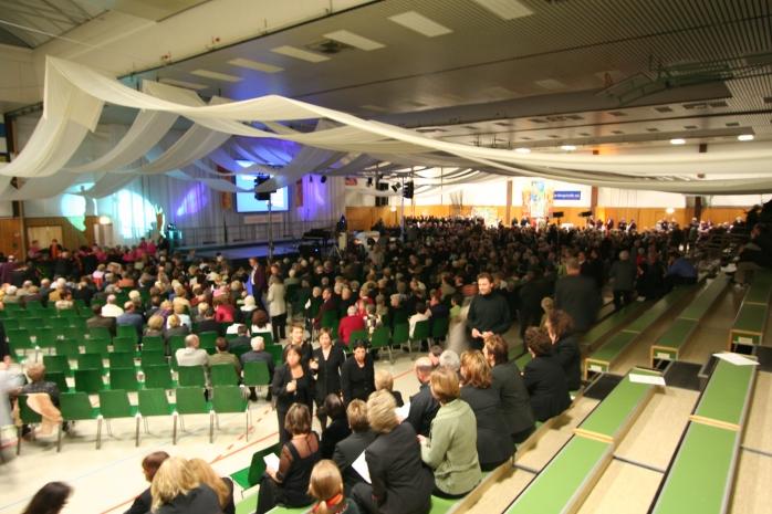 Jubiläum in der Sachsenhalle von V. Schneider 2006
